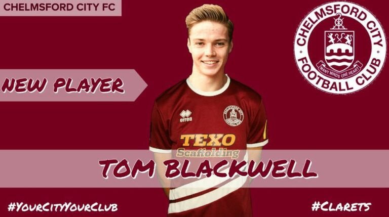 Where Are They Now | Tom Blackwell Signs For Chelmsford City