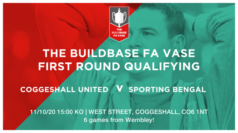 Coggeshall United Vs Sporting Bengal United | TICKET INFORMATION