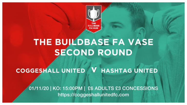 COGGESHALL UNITED V HASHTAG UNITED