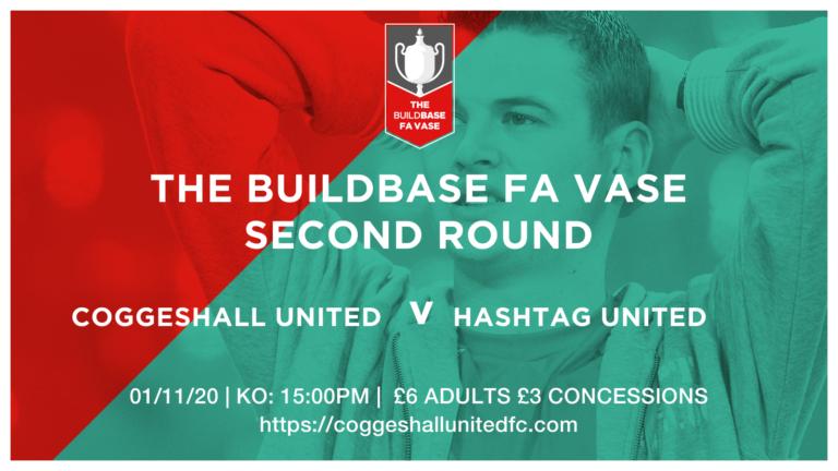 FT: COGGESHALL UNITED 0-2 HASHTAG UNITED